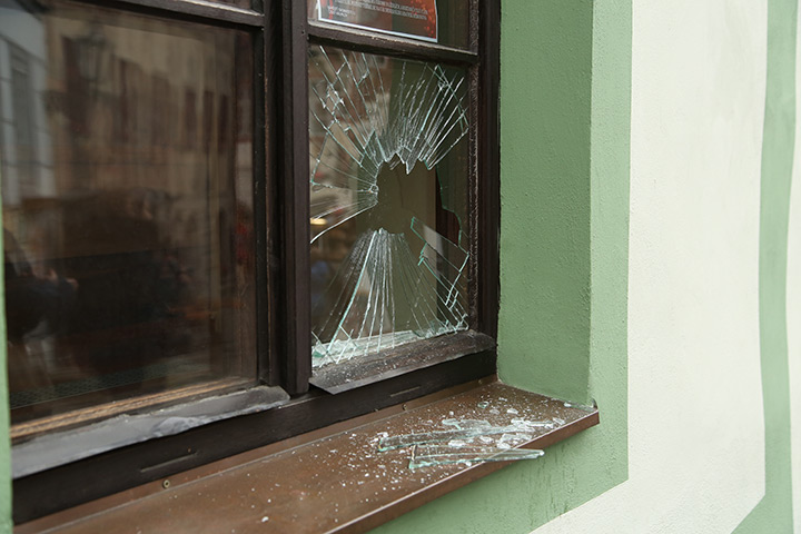 A2B Glass are able to board up broken windows while they are being repaired in Redbridge.